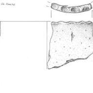 Fundzeichnungen – Keramik der späten Bronzezeit/frühen Eisenzeit