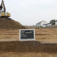 """Siedlungsreste aus dem Neolithikum und der Römischen Kaiserzeit im Baugebiet """"Südliche Bockstraße"""
