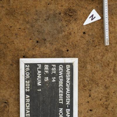 Siedlungsbefunde der vorrömischen Eisenzeit aus dem Gewerbegebiet Bantorf Nord – Ergebnisse der Ausgrabungen vom Jahr 2012