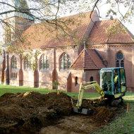 Bestattungen im Umfeld der St. Ludgerikirche in Ehmen