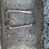 Neuzeitliche Bestattungen im Stadtkern von Bückeburg