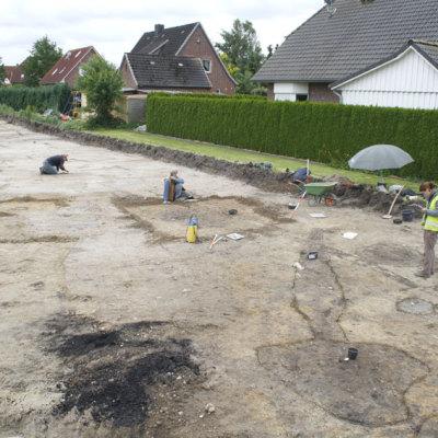 Besiedlungsspuren von der Römischen Kaiserzeit bis zur Völkerwanderungszeit in Groß Fredenbeck