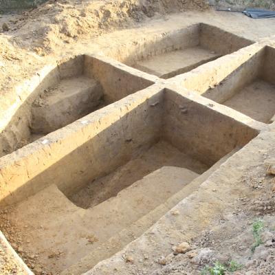 Grubenkomplex von der Fundstelle 43 – 2