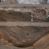 Abb. 13 Der 1643 schon verfüllte Stadtgraben (Bef. 235).