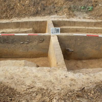 Grubenkomplex von der Fundstelle 43 – 3
