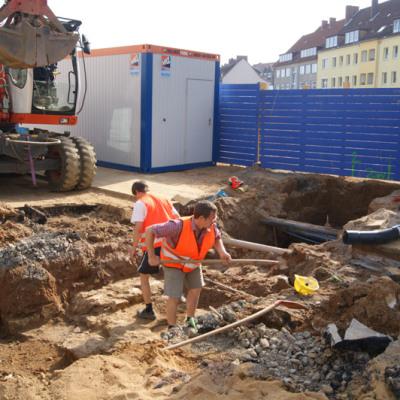 1000 Jahre Hildesheimer Geschichte – Die Begleitung der Verlegung einer Fernwärmeleitung – EVI Hildesheim