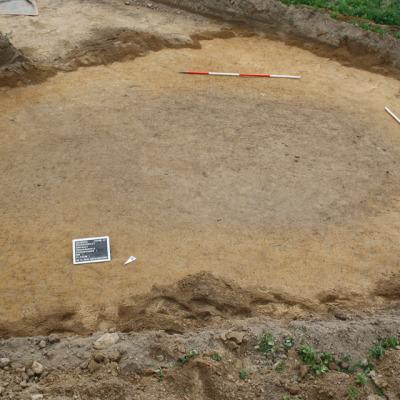 Grubenkomplex von der Fundstelle 43 – 1