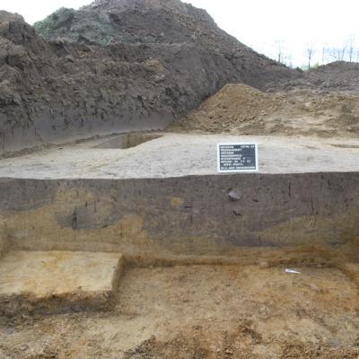 Grubenkomplex von der Fundstelle 44