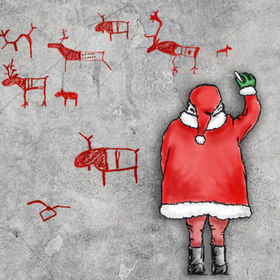 ArchaeoFirm Weihnachtskarte 2017